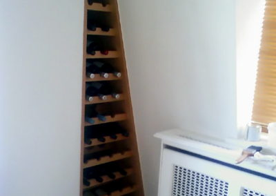 Bespoke wine rack