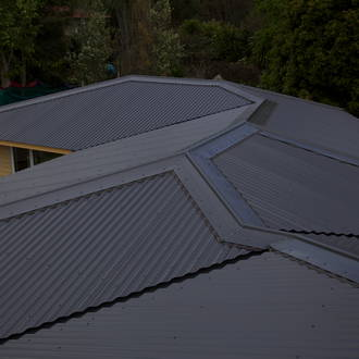 Complex roof build