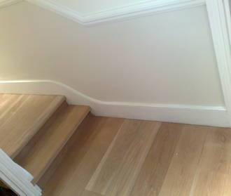 Rolled skirting