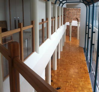 Solid Rimu Banister